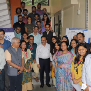 Dr. Harshwardhan's visit to Venture center, 2019