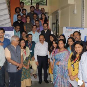 Dr. Harshwardhan's visit to Venture center, 2019